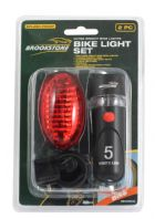 Brookstone Bike Light Set - 2 Piece